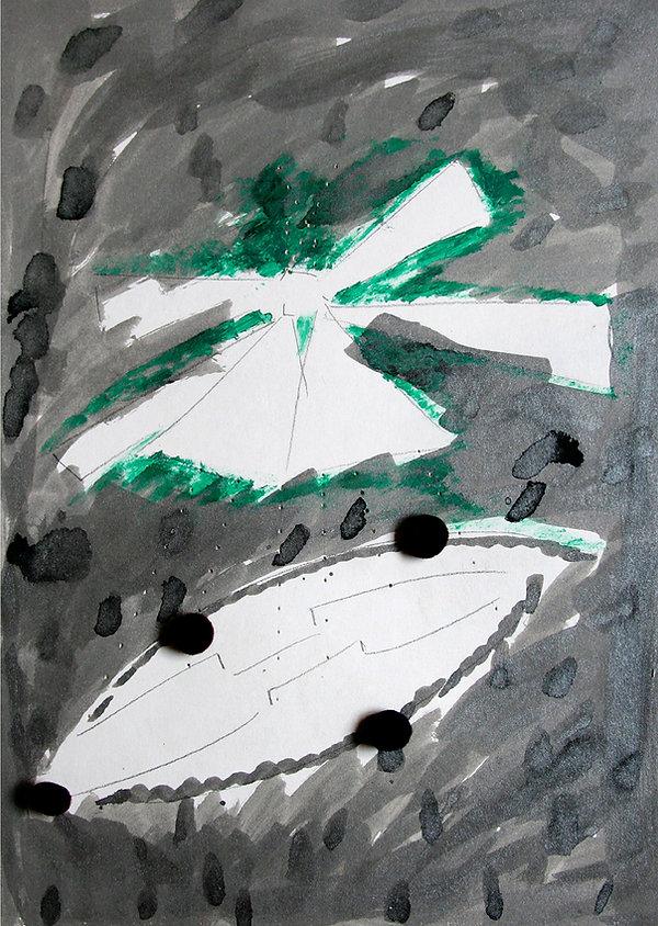 9    La versione di Dulcinea, 2009, 42x3