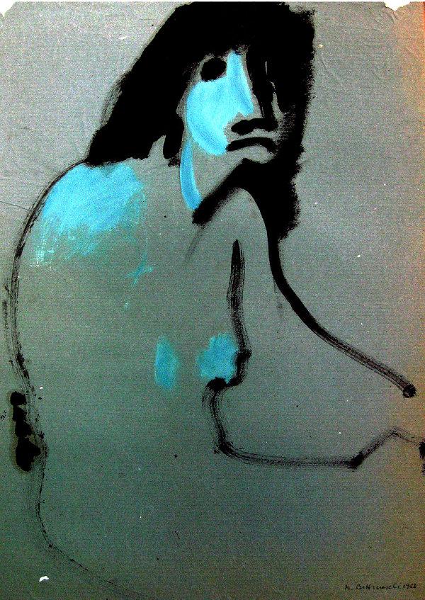 2 Sono una strega,  1968, 75x50 cm .jpg