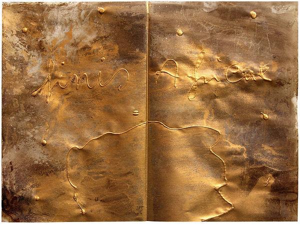 5 Tesoro,1985, carta da lucido, catramin