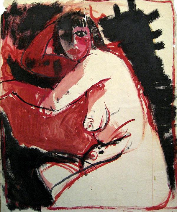 1 Sono una strega,  1968,  80x70 cm .jpg