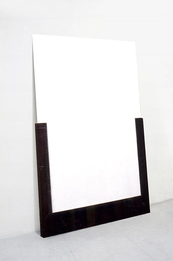 Impossible a dirsi, 1990, 260x170x8 cm