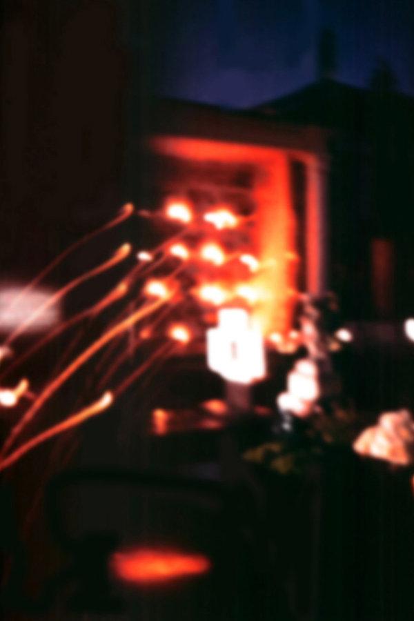 4  Incendiati, 1996, videoproiezione su