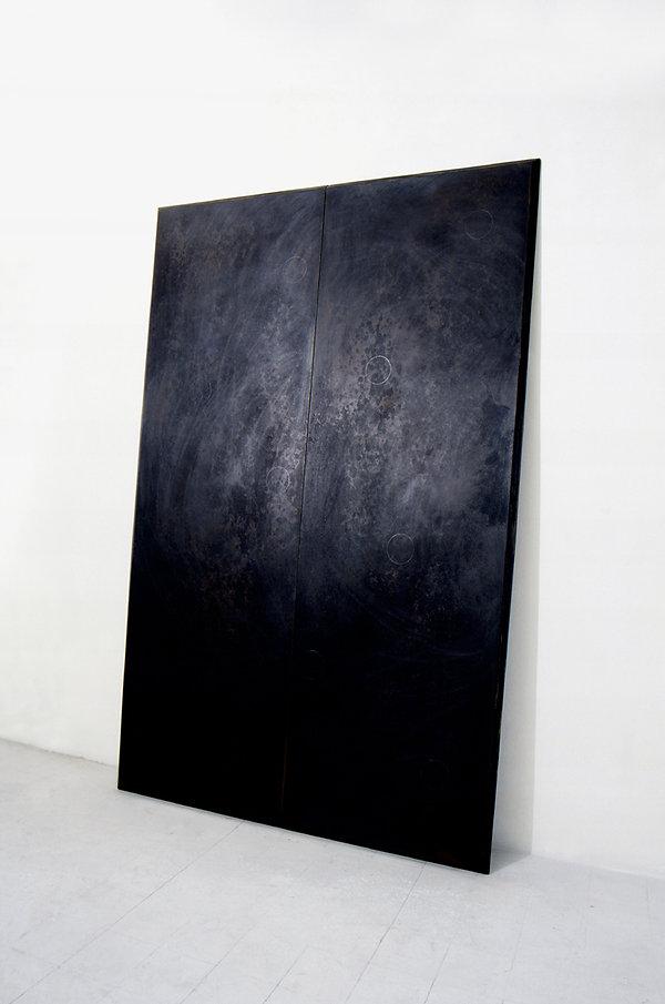 Impossible a dirsi, 1990, 250x160x8 cm