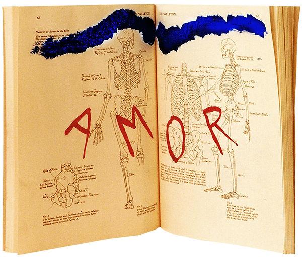 3  Lettere da Francoforte,1992, 27x40x4