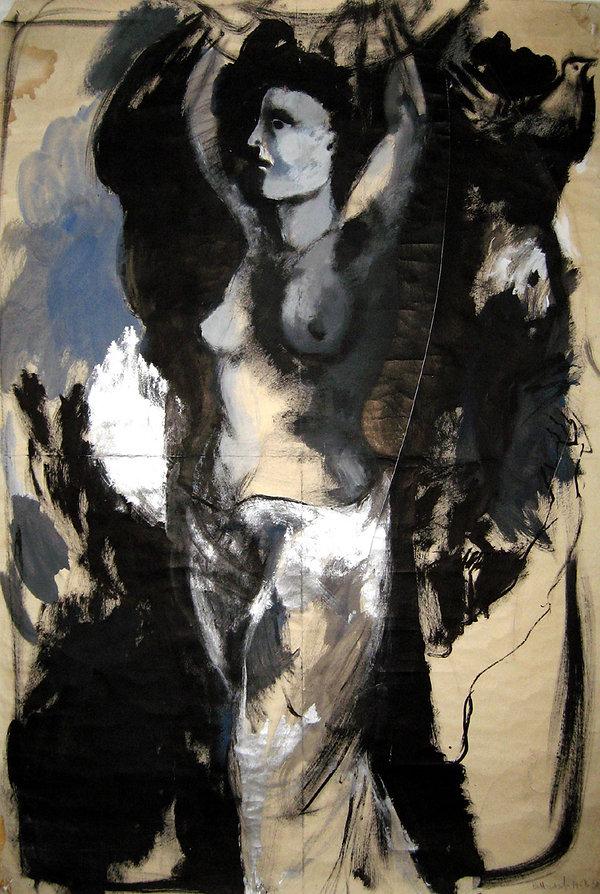 5 Sono una strega,  1968, 150x100 cm  .j
