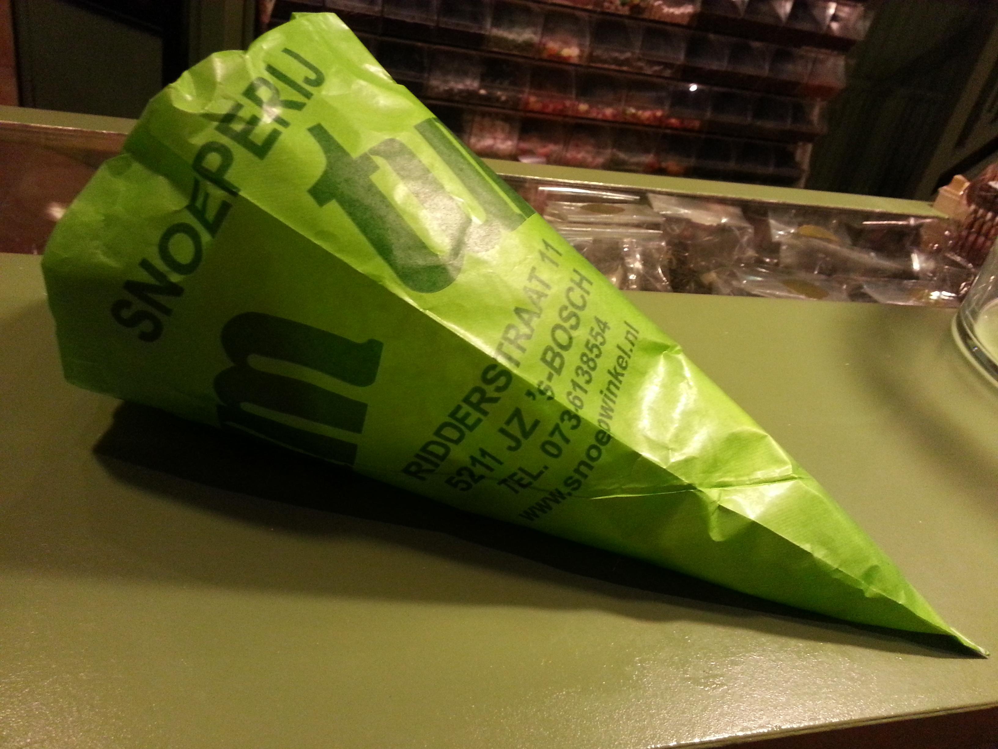 De originele groene TumTum zak
