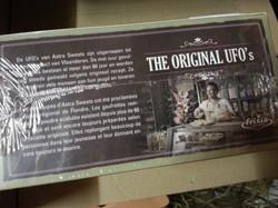 TumTum op verpakking UFO's