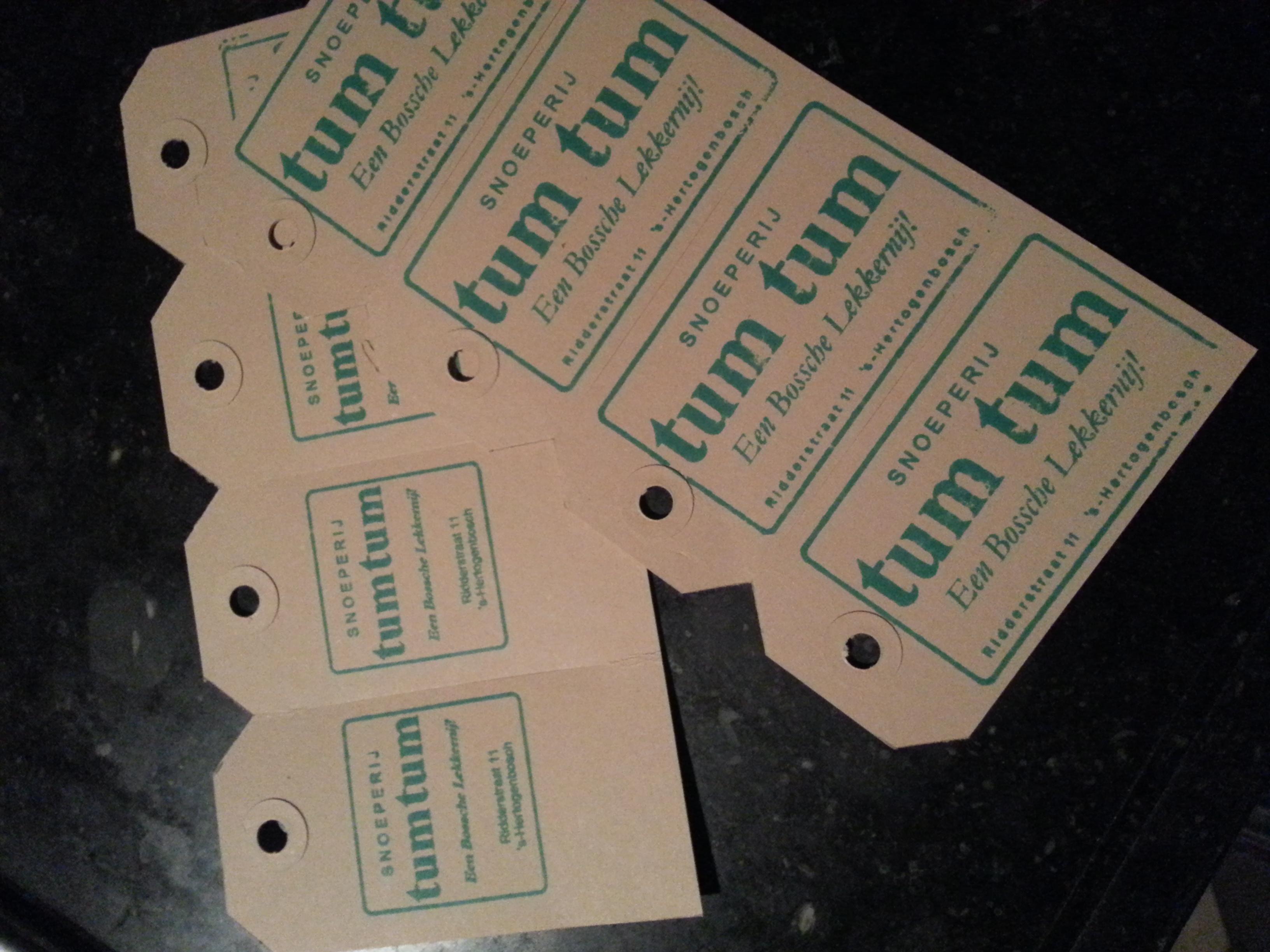 TumTum kaartjes