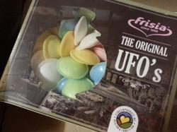 Tum Tum op verpakking UFO's