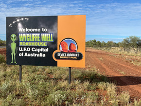 Wycliffe Well Road House, Road Intersections Upgrade