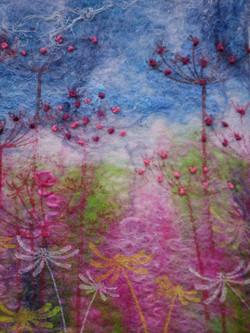 Seedheads and french knots