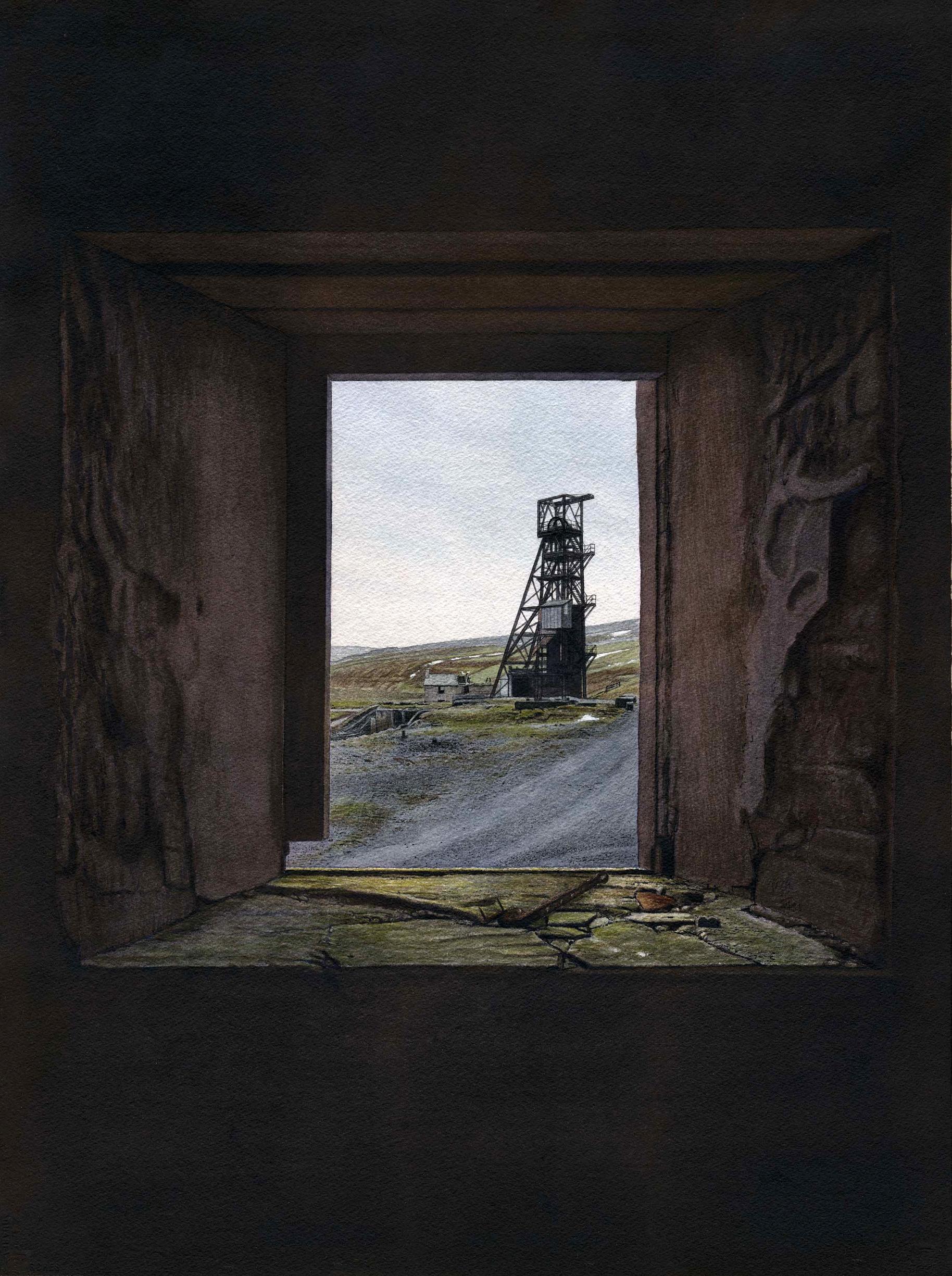 Pit Head, Grove Rake Mine