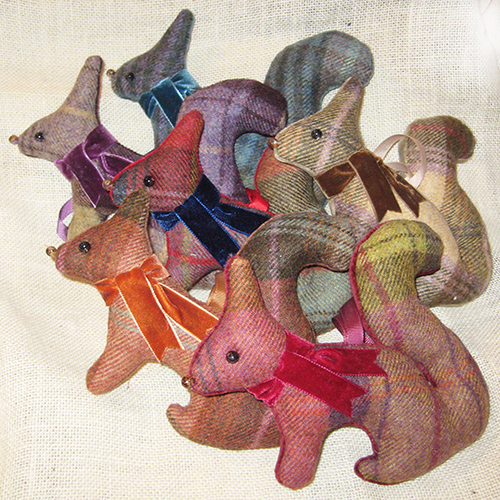 Tweed Squirrels