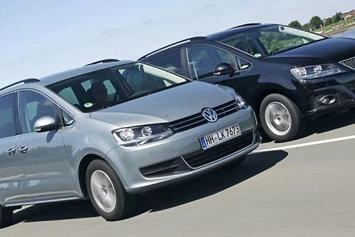 AHV KIT Abnehmbar  Seat Alhambra VW Sharan inkl. Montage und Codierung