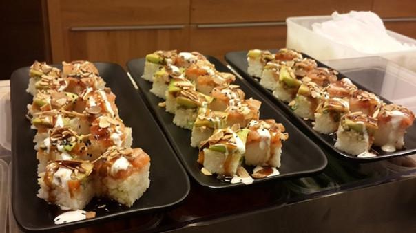 סושי בטרה סושי ללא אצה