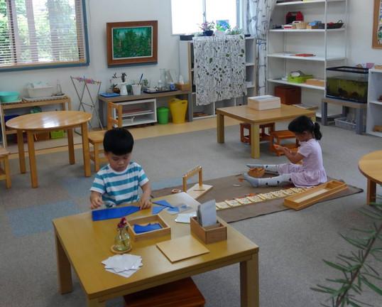 感覚教具と数の教具