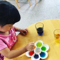 色を作る実験