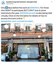 Only 4 days before the DOOH Connects Event! Registered?