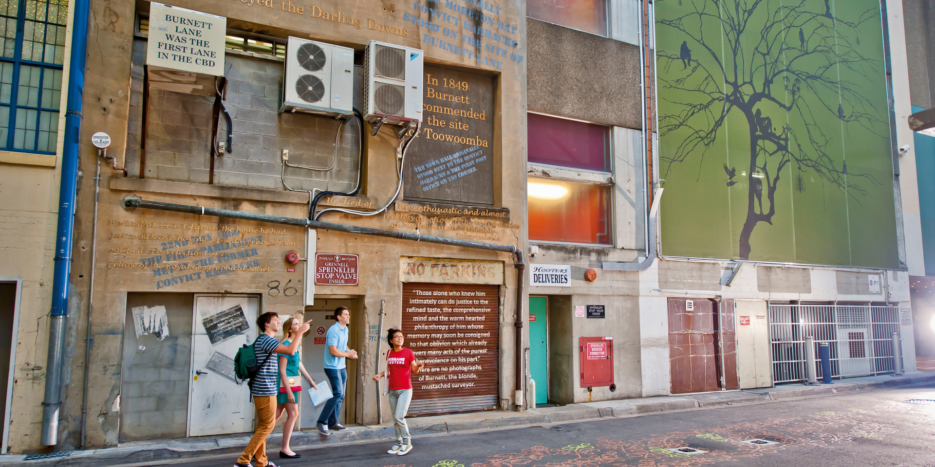 Brisbane Greeters - Burnett Lane
