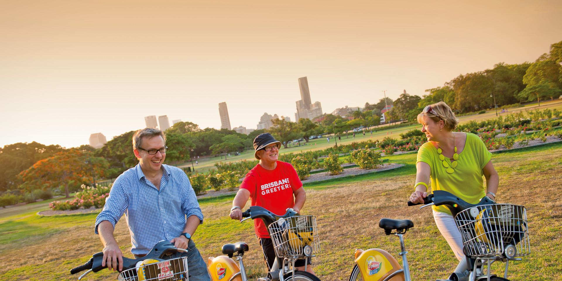 Brisbane Greeters 3 - CityCycle