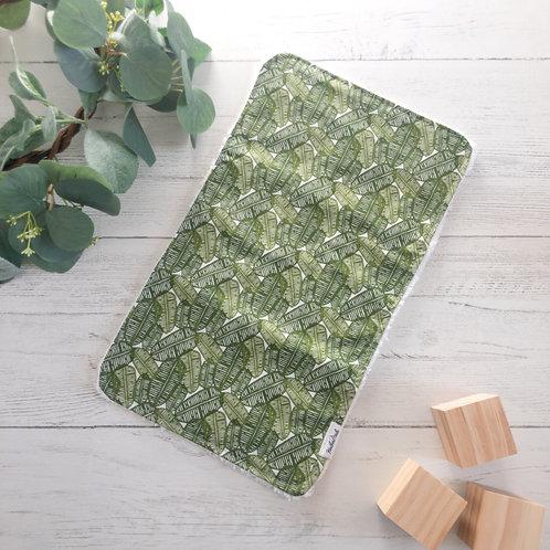 Jungle Leaves Burp Cloth