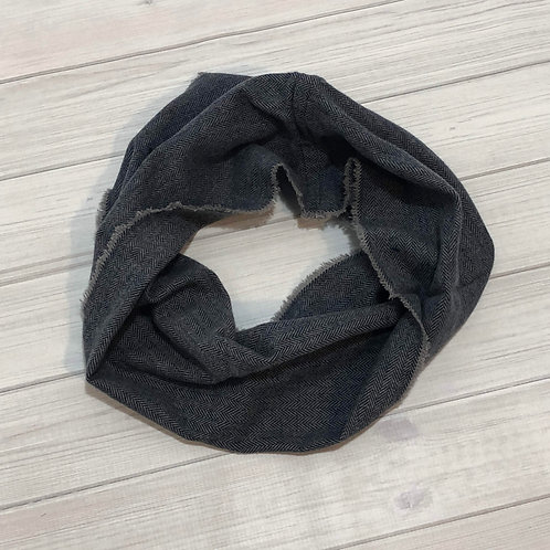 Blue/Gray Child Infinity Scarf