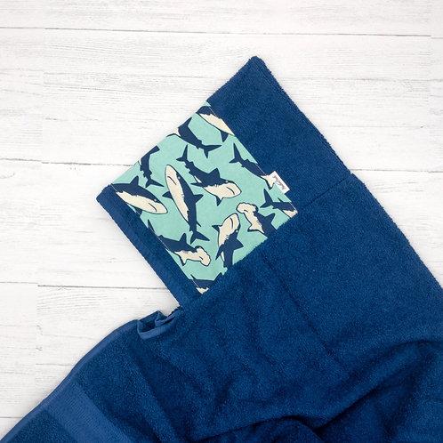 Sharks Hooded Towel