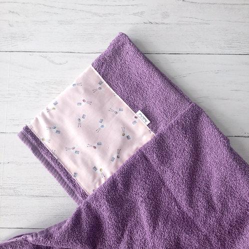 Little Birdies Hooded Towel