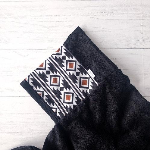 Aztec Print Hooded Towel