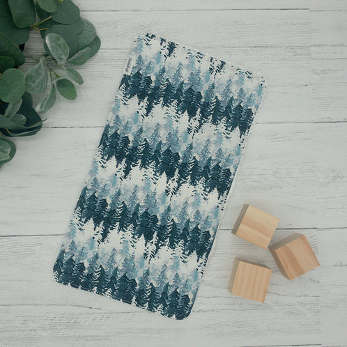 Forest Chenille Burp Cloth