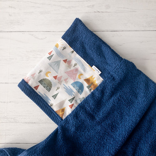 In the Mountains Hooded Towel