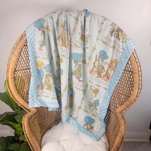 Holly Hobbie Vintage Blanket