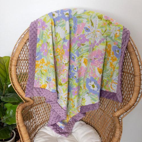 Spring Floral Vintage Blanket