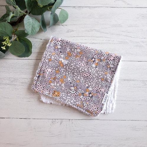 Flora Fields Burp Cloth