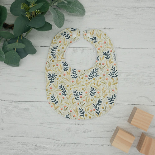 Wildflowers Baby Bib