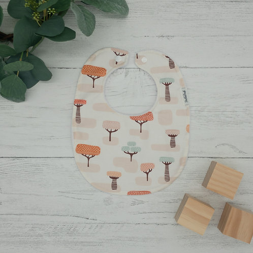 Jungle Trees Baby Bib