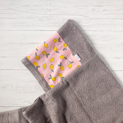 Pink Lemonade Hooded Towel