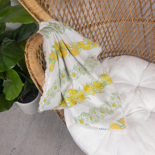 Yellow Daffodils Vintage Lovie