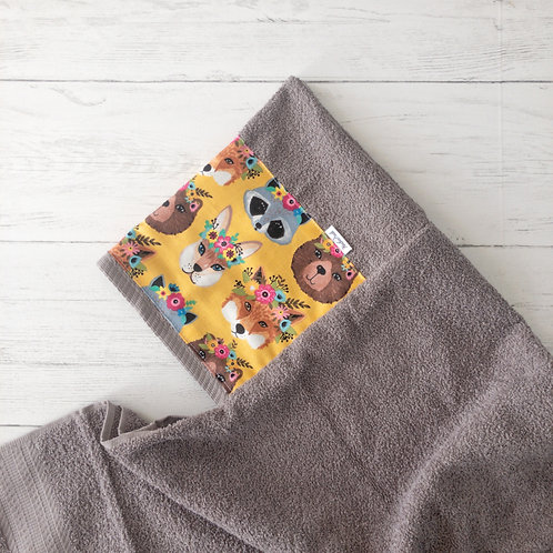 Forest Friends Hooded Towel