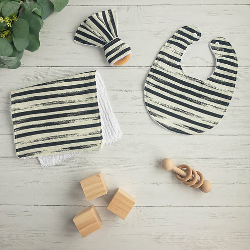 Black & White Stripes Gift Bundle