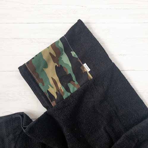 Camouflage Hooded Towel