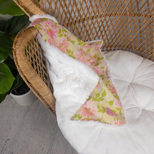 Pink Floral Vintage Lovie
