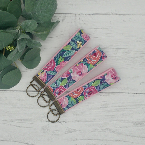 Summer Floral Key Fob