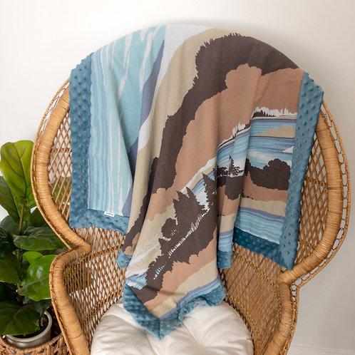 Waters Edge Vintage Blanket