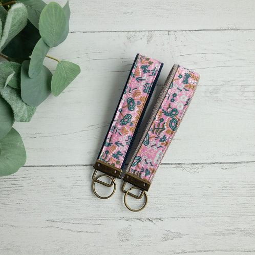 Menagerie Tapestry Violet Key Fob