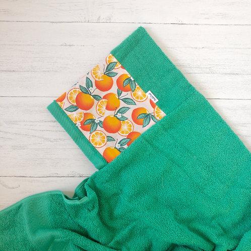 Oranges Hooded Towel
