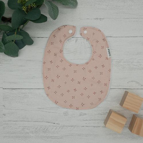 Flowers in Pink Baby Bib