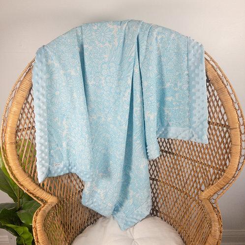 Blue Meadow Vintage Blanket