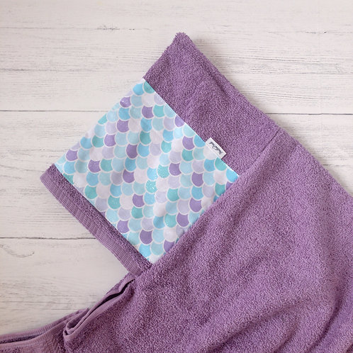 Mermaid Scales Hooded Towel