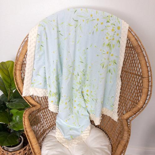 Daisies Vintage Blanket